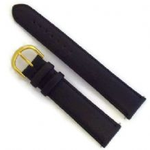 Water Resistant Padded Leather Watch Strap